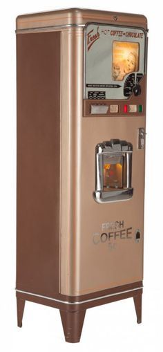 this vintage coffee machine contains all the components to make a great cuppa within its walls
