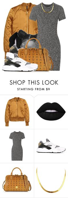 """Untitled #623"" by b-elkstone ❤ liked on Polyvore featuring Lime Crime, Theory, NIKE and MCM"
