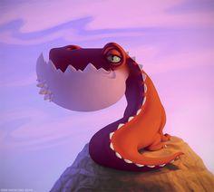 Dragonsaur по BenHickling на deviantart