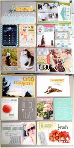 Project Life mit den AC Core Kits Midnight, Jade und Blush | Nadine Westphal für www.danipeuss.de