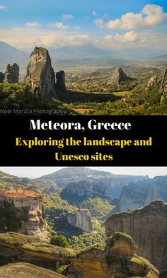 Stunning landscapes and places to visit in Meteora, Greece - a world Unesco Heritage site. Here are the highlights of places to visit and photograph in this national park http://travelphotodiscovery.com/photographs-of-meteora-greece/