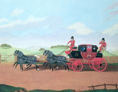 James Pollard *The Liverpool and London Royal Mail Coach (1812)*