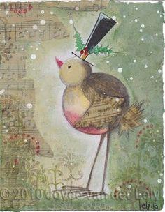 JoYce'S *ArT=♥: Merry Christmas ~ a Red Robin