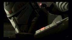 Close up of Commander Wolffe