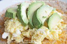 Egg & Avocado wrap