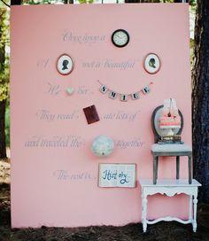 Cake Display Wall