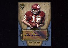 2012 Topps Supreme Kansas City Chiefs HOF Len Dawson Auto Autograph #7/25 #KansasCityChiefs