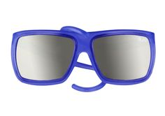 Electric Blue -  Mirror Lenses