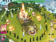 #mod_apk #mod_apk_android #techcrue Godus is a good game. Millions of players. Please visit TechCrue immediately to download the latest mod apk for the game Top Down Game, Fun Video Games, 2d Game Art, Pix Art, Game Environment, 3d Landscape, Simulation Games, Game App, Best Games