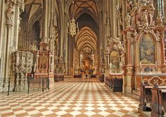 One of the great European capitals, Vienna was for centuries the stomping ground for the Habsburg rulers of the Austro-Hungarian Empire. The empire is long gone, but reminders have been carefully p… Sacred Architecture, Cultural Architecture, Education Architecture, Residential Architecture, Stuff To Do, Things To Do, Worship Service, Austro Hungarian, Vienna Austria