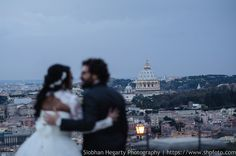 Amazing venue with view for Pritika and Davide's wedding in Rome. www.weddingsinrome.com