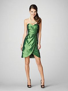 This is apparently a bridesmaid dress, but I really feel like I should be able to wear it to a fancy dinner...