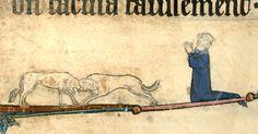 Women on the edge, part 1 Cambrai, bibl mun MS 87 Medieval, The Past, Culture, Illuminated Manuscript, Dogs, Art, Women, Drop Cap, Painting Art