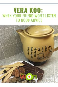 Vera Koo offers sage wisdom as to what to do when you're friend won't listen to your advice. Chicken Rice Bowls, Berry Cheesecake, Listening To You, Good Advice, Weight Gain, Sage, Champion, Wisdom, Salvia