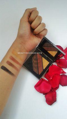 BURBERRY COMPLETE EYE PALETTE 05 DARK SPICE #eyeshadow #makeup #besteyeshadowpalette #burberry #luxury #beauty #beautyblogger