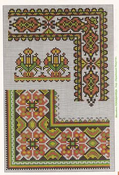 Towel Embroidery, Cross Stitch Patterns, Bohemian Rug, Alphabet, Rugs, Crafts, Game, Gallery, Ideas