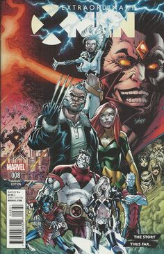 Marvel Extraordinary X-Men comic issue 8 Limited variant