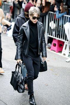 [OFF-STAGE] 161028: BTS Park Jimin #bangtan #bangtanboys #bts #fashion #kfashion #kstyle #korean #kpop