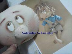 Lista de materiais e vídeos aqui Muito linda essa boneca da Silvia Torres!! Mulher.com 27/06/2014 - Gui...