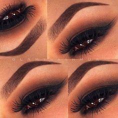 browns blacks eyeshadow eyebrows