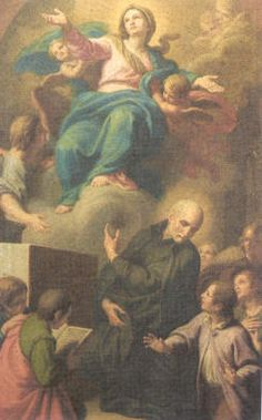 """""""San José de Calasanz"""". Unknow artist. Founded first public schools in Europe to educate children of the poor."""