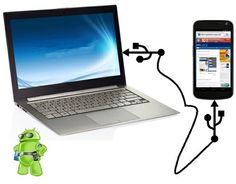 Tenha Internet no seu Android a partir do PC por USB