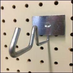 Anti-Sweep Galvanized Hook Back-Labeled – Fixtures Close Up Store Fixtures, Hooks, Door Handles, Retail, Display, Floor Space, Billboard, Door Knobs, Wall Hooks