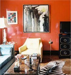 tangerine tango wall