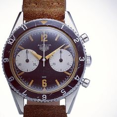 Tagheuer Autavia: The Caliber 11 from Heuer – arguably the world's first self-winding chronograph – was launched in the Monaco, the Autavia, and Carrera all at the exact same time.