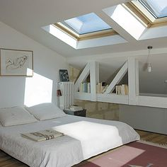 ... chambre combles on Pinterest  Google, Attic bedrooms and Dressing