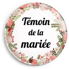 Badge témoin