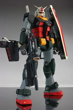 MG 1/100 RX-78-2 Gundam Real Type Color: Work by タカ8 Photoreview [WIP too] No.23 Big Size Images