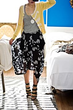 from Karla's closet {aww with anthropologie knitwear i SO so wanted!}