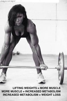 Forget about cardio...just lift heavy!