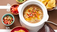 This dip could not get any easier with only 3 ingredients and a slow cooker to make the cooking one step.