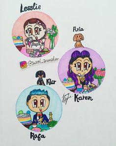 """6,190 Me gusta, 104 comentarios - Jenny A. (@sweet_animator) en Instagram: """"Nuevo dibujo de @platicapolinesi que opinan? Espero les guste  también los hice así por si te…"""" Thea Queen, Cute Illustration, Kitty, Animation, Photo And Video, Memes, My Favorite Things, Cool Stuff, Disney"""