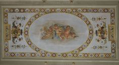 Udine, Palazzo Giacomelli, sede del Museo Etnografico del Friuli. Soffitto dipinto