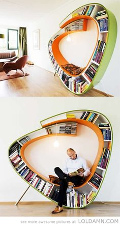 Bookworm chair Just Great!