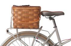 Covered Picnic Rack Basket #public #bicycle #basket #rear #rack