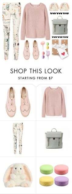 """""""Lost On You"""" by eysari ❤ liked on Polyvore featuring Attilio Giusti Leombruni, MANGO, MM6 Maison Margiela, 3.1 Phillip Lim and Cotton Candy"""