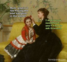 50 Impossibly Funny Classical Art Memes That Will Make Your Day Renaissance Memes, Medieval Memes, Medieval Reactions, Classical Art Memes, Funny Art, Funny Jokes, Hilarious, Memes Historia, Memes Arte