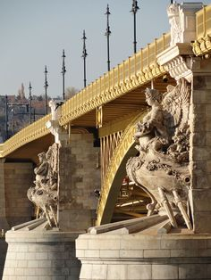 1876.Margaret Bridge, Budapest. It was designed by French engineer Ernest Goüin and built by the construction company Maison Ernest Goüin et Cie. between 1872 and 1876, the engineer in charge being Émile Nouguier. Margaret Bridge was the second permanent bridge in Budapest after Széchenyi Chain Bridge.
