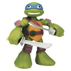 The Teenage Mutant Ninja Turtles Half-Shell Heroes Mega Leonardo is one of this year's top toys! Track it on worthit.co to get the best deal.