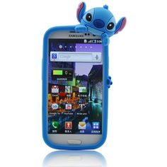 Disney Stitch Hide and Seek Silicone Case Cover for Samsung Galaxy S... ($4.99) ❤ liked on Polyvore featuring accessories, tech accessories, phone cases, phone, electronics, lilo and stitch, samsung galaxy smartphone and blue smartphone