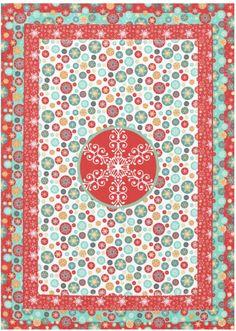 Christmas Snowflakes Tablecloth