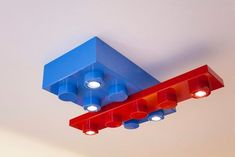Legos can be for more than just play time. Check out these great lego room ideas that are sure to please any little Lego fan, at Queen bee of Honey Dos. Lego Table Ikea, Lego Desk, Lego Room, Lego Wall, Lego Bedroom Decor, Kids Bedroom, Boy Bedrooms, Bedroom Ideas, Lego Hacks