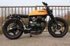 Honda CB650 scrambler by RK
