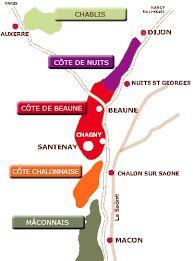 """Résultat de recherche d'images pour """"carte vin bourgogne"""""""