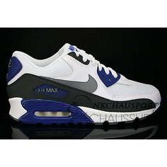brand new b26e6 f5e16 Nike Air Max 90   Meilleur Chaussures Running Homme Blanche Grise