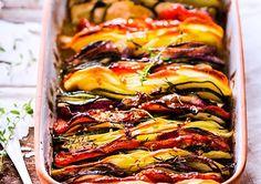 Tian de pommes de terre et légumes d'été